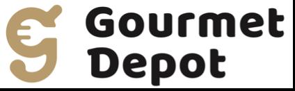グルメデポ ロゴ